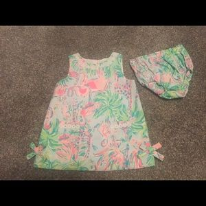 Lilly Pulitzer Animals on parade shift 18-24 month